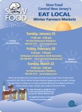 Slow Food Winter Market Sunday @ TrePiani