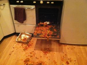 Dinner mishap