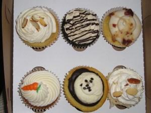 Dessert Boutique cupcakes