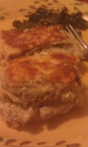 Butternut lasagna