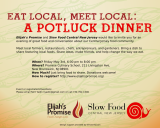 Community Pot Luck at Elijah's Promise on May 3