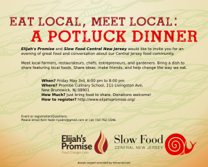 Eat-Meet local potluck