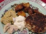 Lamb burgers & thoughts on tahini &hummus