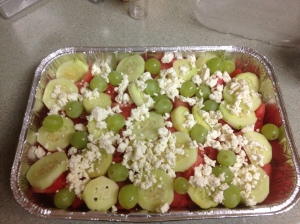 Fruit & Feta salad