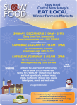 Slow Food Winter Markets