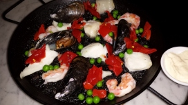 Paella Negra at Despaña