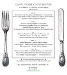 Canal House dinner series