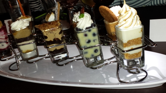 Mini Indulgence Desserts