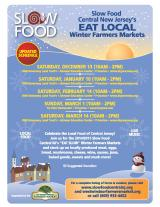 Winter Farmers Market this Sunday at Tre Piani