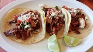 Tacos al Pastor at Taste of Mexico