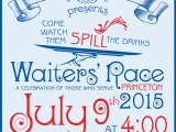 Don't miss the Waiter's Race July 9 at the Princeton Shopping Center