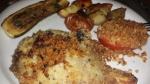 20150910_184653njspiceMarinated zucchiniPork chop & lemon potatoesEggplant-farro saladBaked TomatoesLeftover chop w/leftover veggiesToasted Chocolate Babka