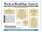 A commonsense approach to healthy school lunches via the Whole Earth Center