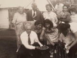 """Family cookout from the """"good olddays"""""""