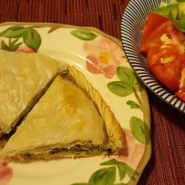 TJ's spinach pie