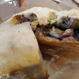 Barbacoa Torta at Taco Truck