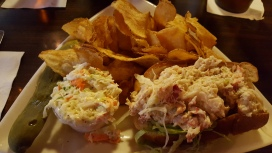 Tiger's Tale lobster roll