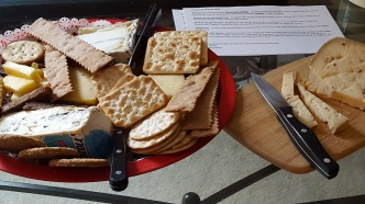 Christmas Eve cheeses