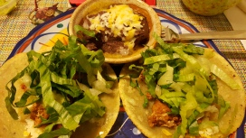 Taco night (chorizo)