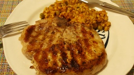 Ginormous pork chop