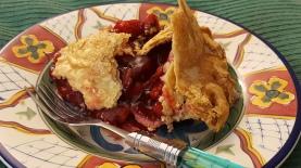 Fantastic FreshDirect cherry pie