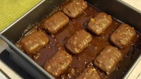 Take 5 Brownies in progress