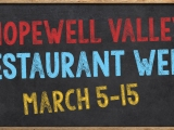 Hopewell Valley Restaurant Week March 5-15