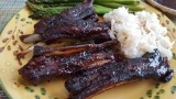 Recipe of the Month-Lamb Riblets (okay, last month)